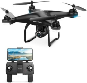 1. Holy Stone GPS FPV RC Drone HS100 with Camera