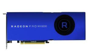 AMD Radeon Pro WX 8200 Graphic Card
