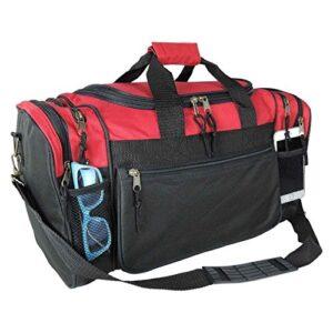 DALIX 20″ Sports Travel Gym Duffle Bag