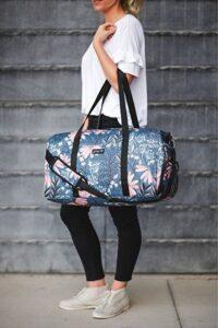 Jadyn B 22″ Women's Weekender Duffel Bag