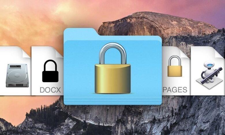 Password Protect a Folder on Mac