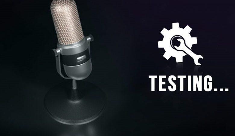 Test Microphone on Windows