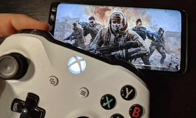 Xbox Controller to Android Device