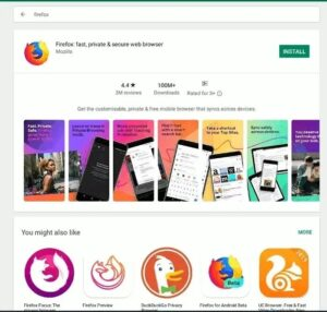 Firefox on Chromebook