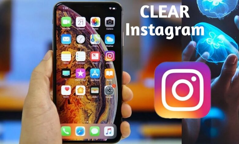 Clear Instagram Cache on iPhone