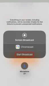Chromecast Safari Browser