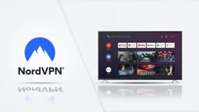 NordVPN on Google TV