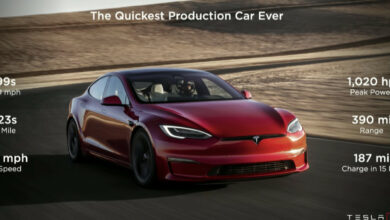 Photo of Can Tesla Model S Plaid Really Hit 0 To 60 MPH In 1.99 Seconds?