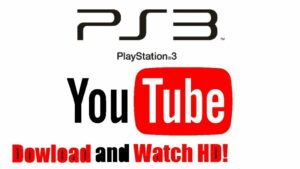 Activating YouTube on PlayStation 3