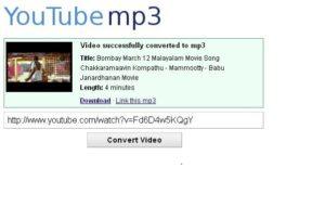 YouTube-mp3. org