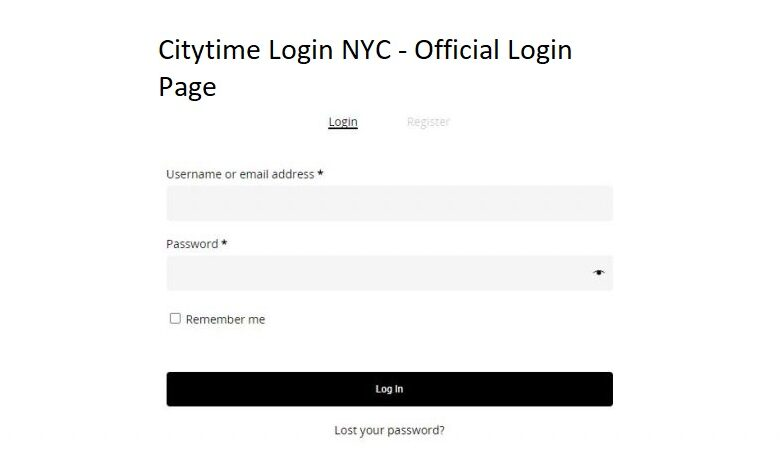 Citytime Login NYC