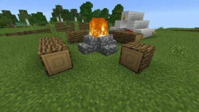 Campfire Minecraft
